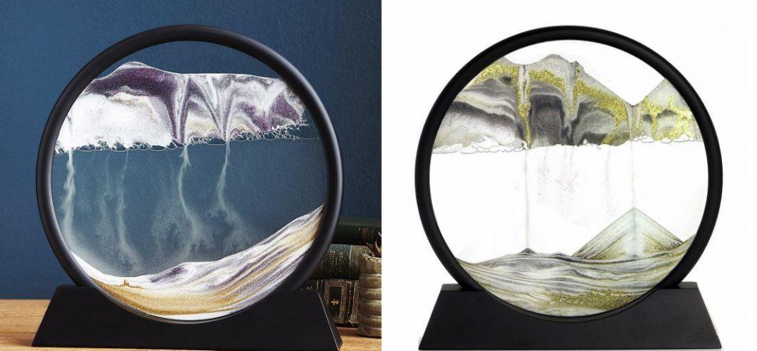 灵感来自大自然   深海艺术的超酷圆盘沙漏