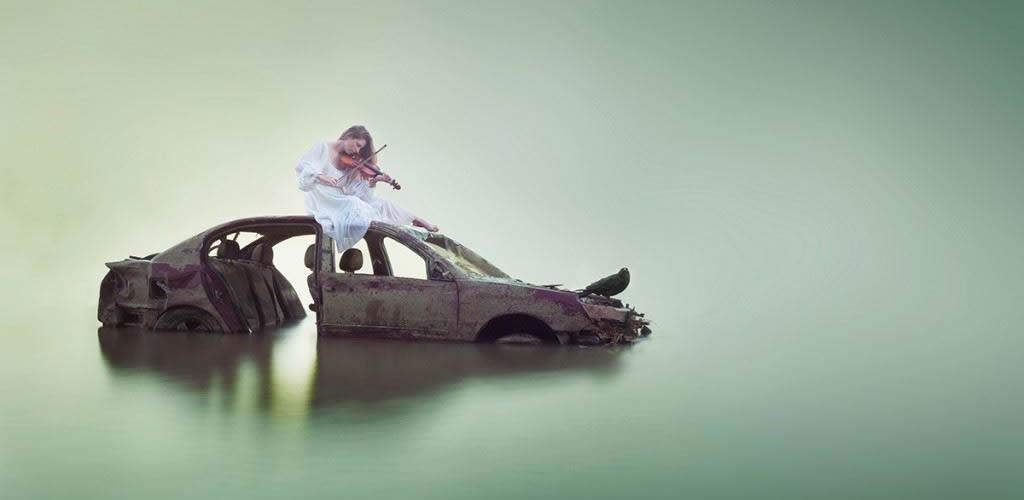 去梦一个梦 严重失眠症摄影师的超现实摄影创作