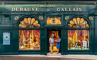 商店门面装饰讲述别样巴黎