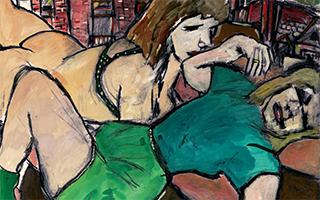 诺贝尔文学奖颁给会画画的艺术天才鲍勃·迪伦