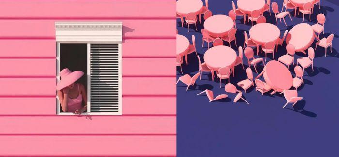 超现实的文艺复兴:走进韩国艺术家Lee Sol的粉色梦境