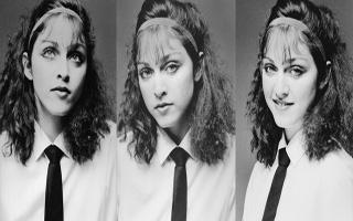 性感天后麦当娜也有清纯的青涩岁月