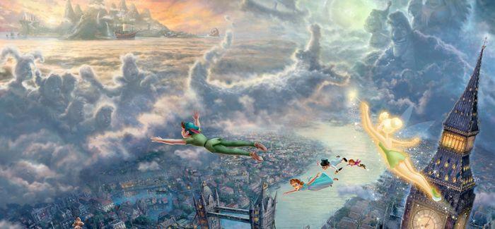 Thomas Kinkade:梦幻迪士尼绘画集