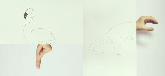 Javier Perez 创意动物涂鸦图集