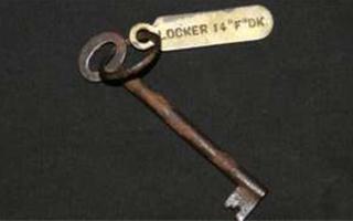泰坦尼克号钥匙拍卖 以8.5万英镑成交