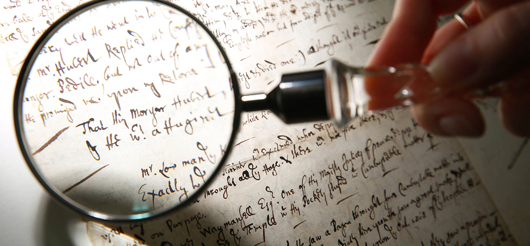 伦敦博物馆展出伦敦大火手稿证据原件
