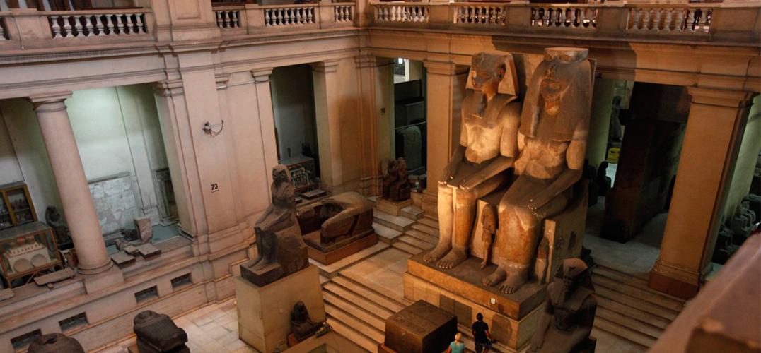 逾400件追缴文物在埃及首展