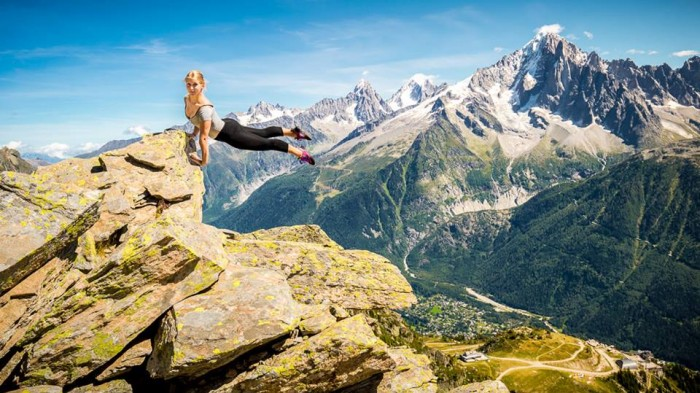 Ballerina Strikes Incredible Poses On Mountain 11