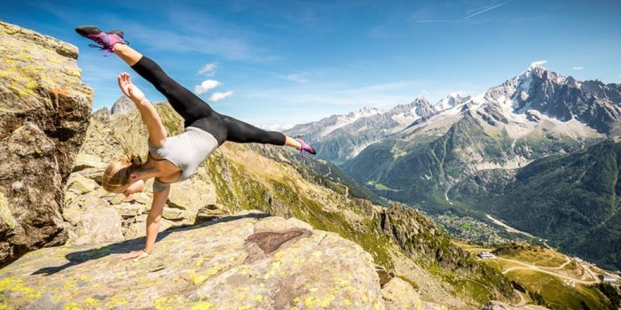 Ballerina Strikes Incredible Poses On Mountain 10