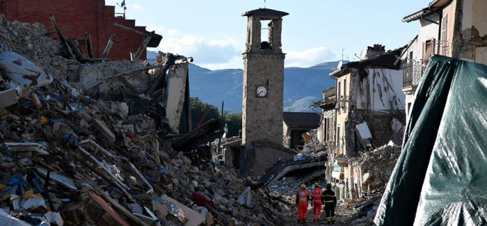 阿马特里切地震后意大利文遗保护队抢救出900件作品
