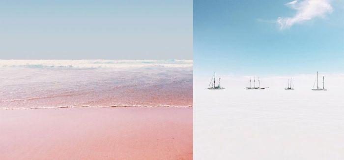沁凉静谧的蓝与白:跟着Teresa Freitas ,走进海连天的梦境
