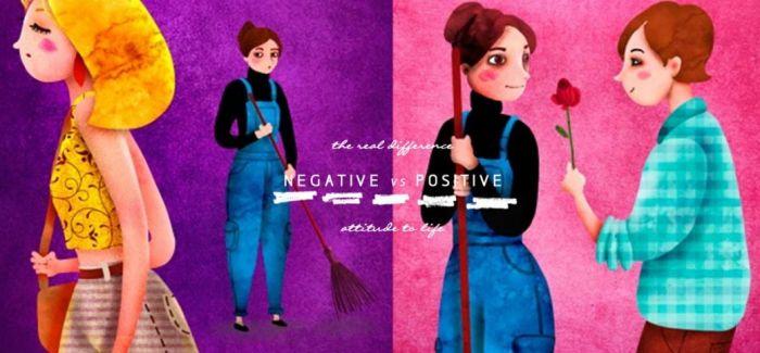 Stay Positive:11张插图道出「负面 vs 正面」的人面对人生时态度的差异