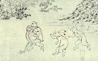 """宫崎峻的工作室让古代的""""鸟兽人物戏画""""动了起来"""