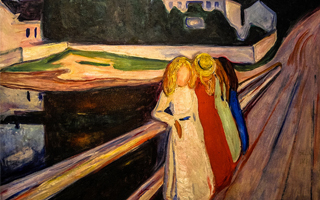 蒙克巨作《桥上少女》亮相苏富比 估价5000万美元