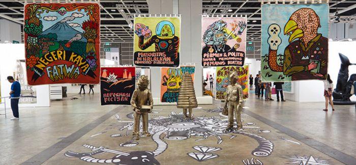 2017年香港巴塞尔公布参展画廊名单