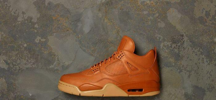 球鞋中的土豪金Nike Jordan 4 Premium Ginger
