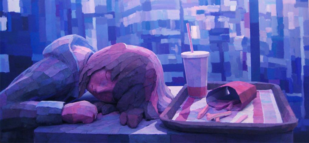 从画中走出来:Shintaro Ohata立体雕塑作品