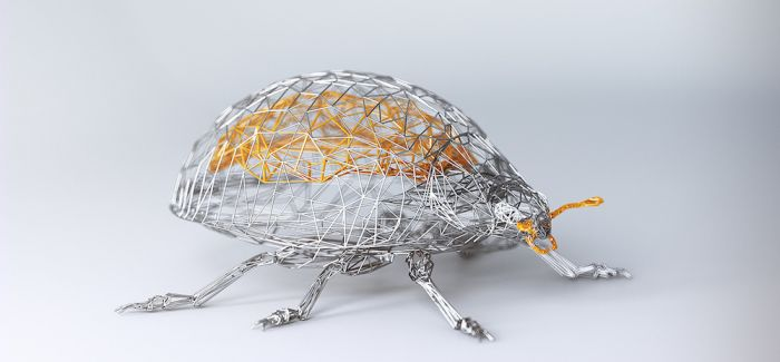 虚拟铁丝艺术之下   缠绕出动物的优雅灵魂