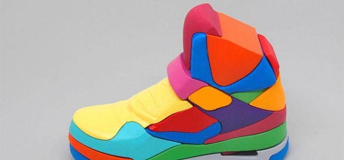 七彩拼图   拼凑自己的 Jordan 鞋