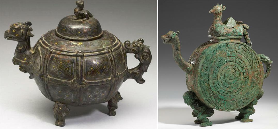 杭州博物馆推出两周时期河南青铜器与浙江原始瓷联展