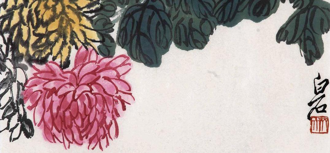 早期追求工细一路 白石老人的早期人物画,与清代人物画家焦秉贞,改琦