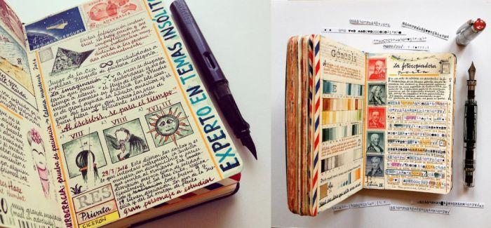 德国艺术家José Naranja的笔记本艺术