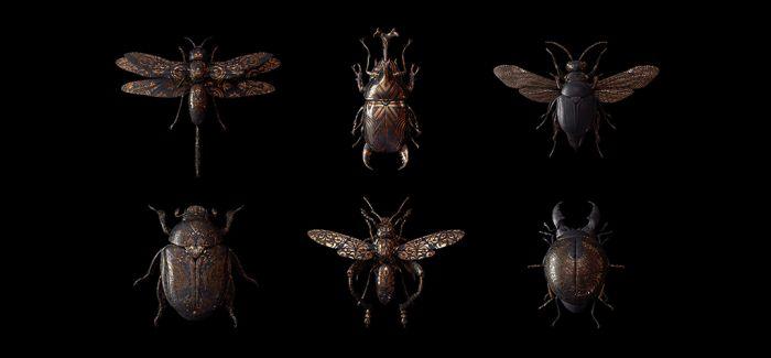 昆虫界里的满城尽带黄金甲