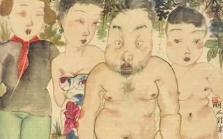 当代画家李津《丽人行》上拍北京诚轩
