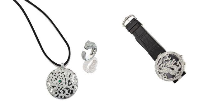 香港苏富比推出首饰专场 钻石龙手链估价十万美元