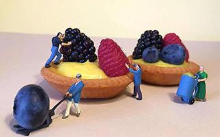 用眼睛喂胖你:不做建筑工的甜品师不是好艺术家