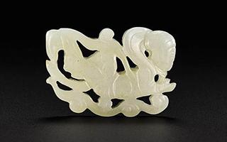 中国艺术品专拍亮相香港苏富比 玉雕估价30万港元