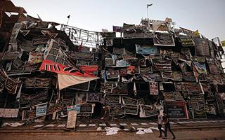 巴格达警方早前关闭的展览或将重新开放