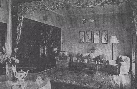 上世纪东方宾馆内景