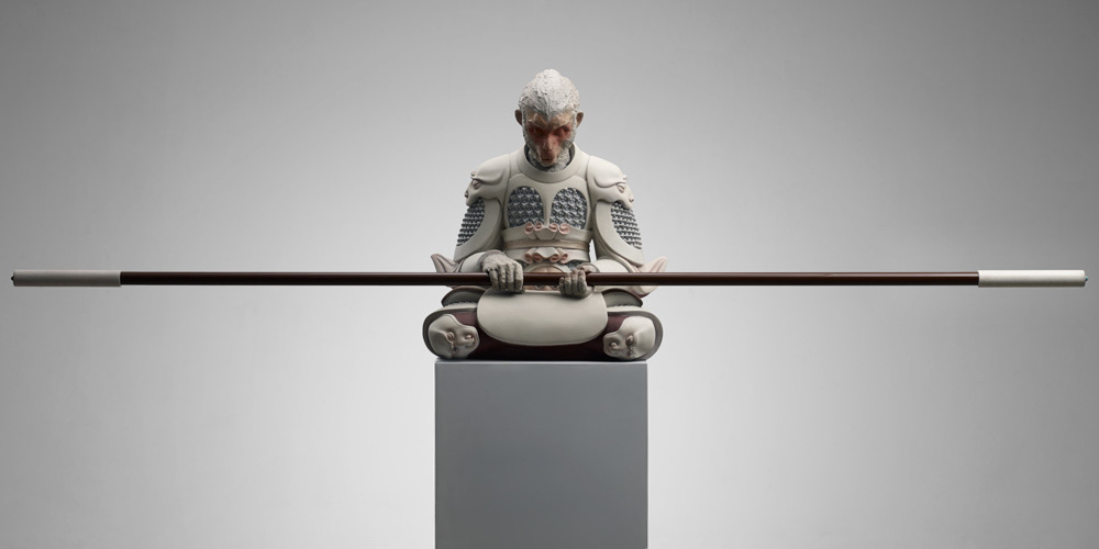 中国艺术家王瑞琳的孙悟空雕塑设计作品
