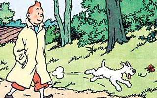 比利时漫画《丁丁历险记》中的原版手稿创拍卖纪录