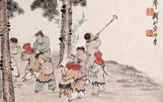 古画品鉴:正月里的香暖烟火