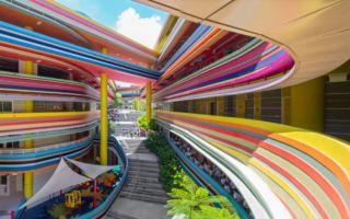 新加坡 | 山坡上的一道彩虹是孩子们的学堂