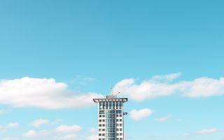 极简主义者眼中的城市与天空