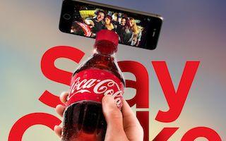 此可口可乐瓶一出   自拍杆江湖地位不保