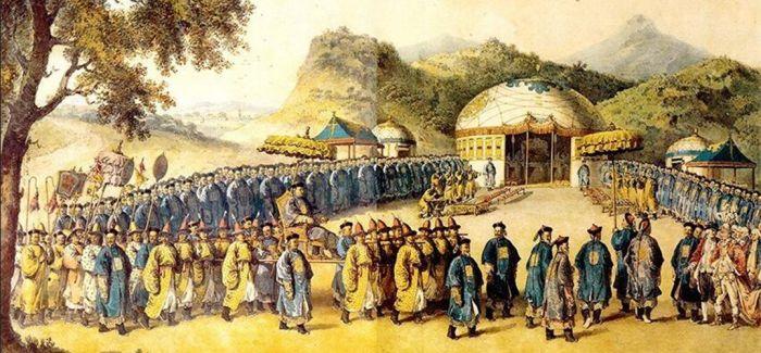马戛尔尼使团随团画家笔下的乾隆盛世