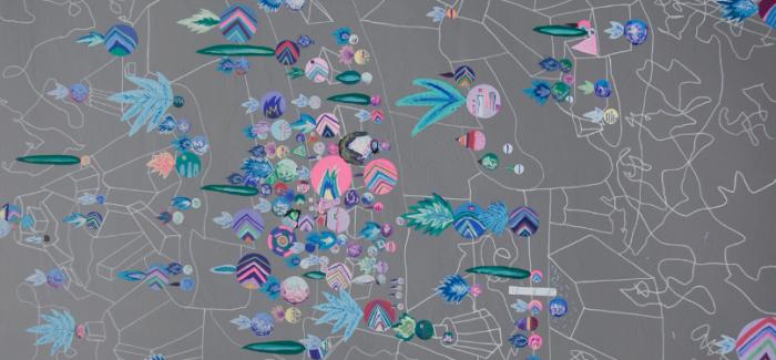 """摘下兔子耳朵!美国艺术家Kyle Skor创作""""紫山·繁星"""""""
