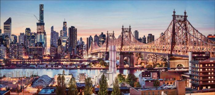 英国超写实主义城市风景画画家 nathan walsh