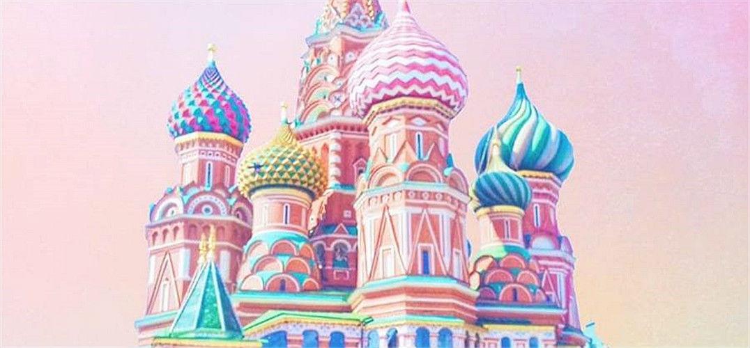 糖色般柔美的建筑 摄影师镜头下绚烂的色彩世界