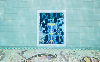 洛杉矶泳池水下艺术展