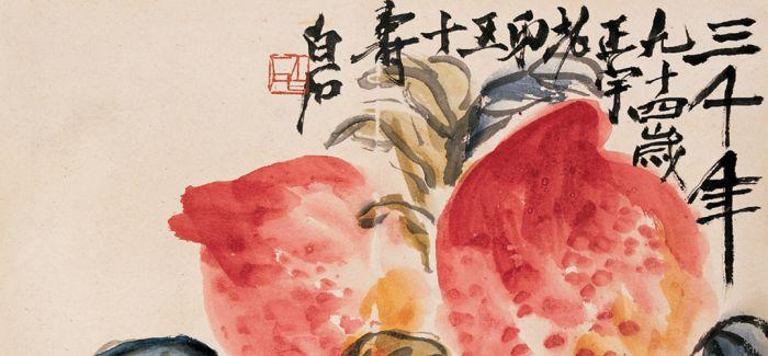 刘益谦1770万港币购齐白石《大寿多子图》