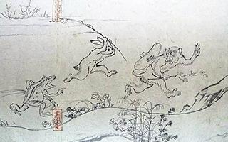 它是日本漫画的开山祖师 更被誉为是日本国宝