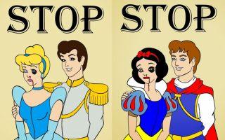 童话崩毁 当看似幸福的白雪公主被家暴时