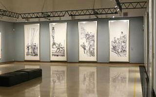 深圳美术馆牵手百位中国画名家 共贺建馆40周年
