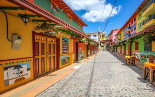 哥伦比亚小镇 让你快门停不下来的彩色世界