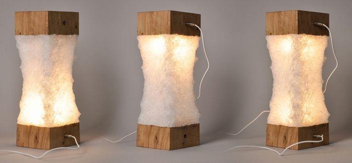 设计师居然把塑料做出蚕丝的效果 来奖励个鸡腿